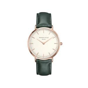 Biało-zielony zegarek damski Rosefield - The Bowery