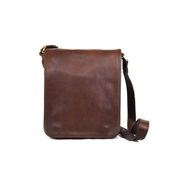 Skórzana torebka Santo Croce 8803 Dark Brown