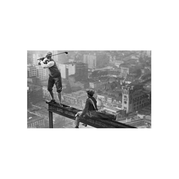 Foto-obraz Workers, 81x51 cm