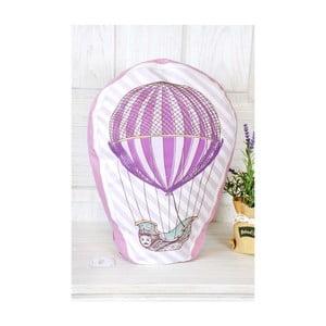 Fioletowa   poduszeczka TheMia Retro Baloon, 40x30cm