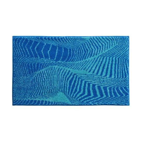 Dywanik łazienkowy Kolor My World XIII 60x100 cm, turkusowy