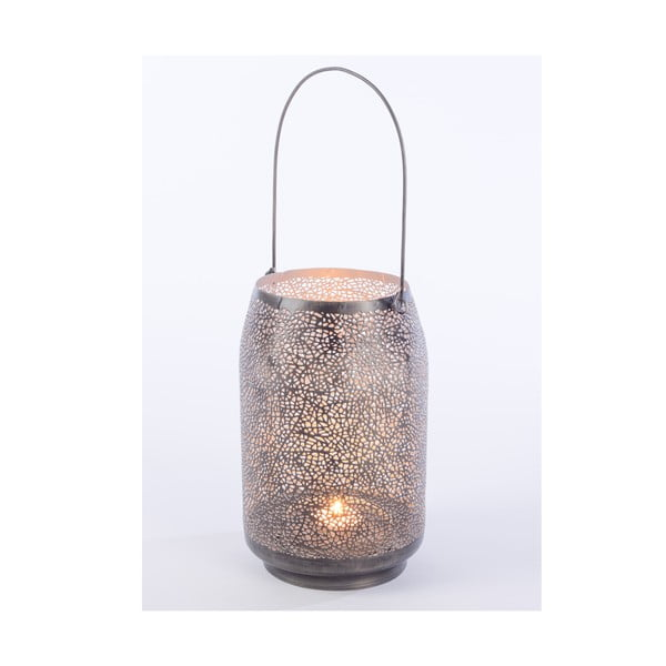 Metalowy lampion Agnes, 23 cm