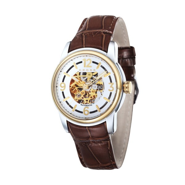 Zegarek męski Cross Palatino Automatic Silver White, 42 mm