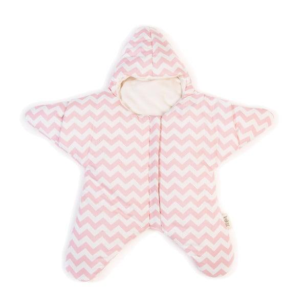 Śpiworek dla dziecka (również na lato) Pink Star, do 3 miesięcy