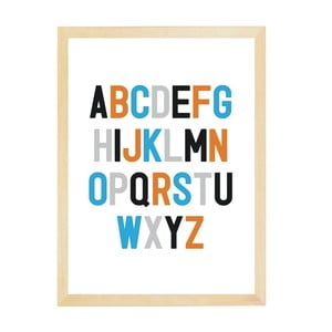 Plakat Nord & Co A to Z, 21x29 cm