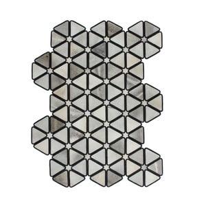 Dywan skórzany Revolution Black, 90x144 cm