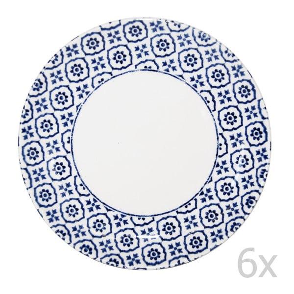 Komplet 6 talerzy Tuscany, 22,5 cm