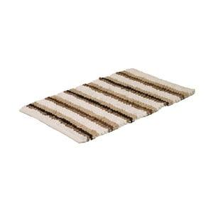 Dywanik łazienkowy Neutral Stripe, 50x80 cm