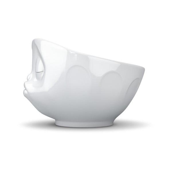 Biała całuśna miska 58products