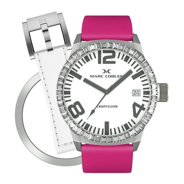 Zegarek damski Marc Coblen z dodatkowym paskiem i obręczą P6