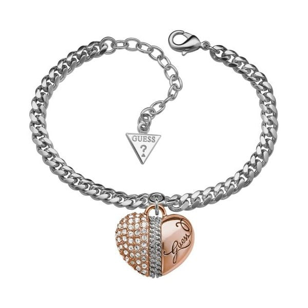 Bransoletka GUESS Duo Heart