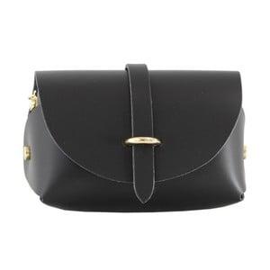 Czarna torebka skórzana Loira