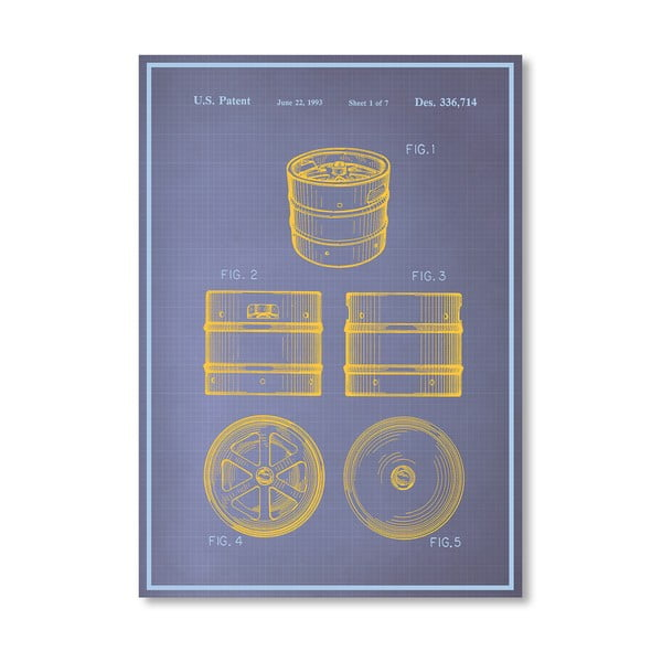 Plakat Keg I, 30x42 cm