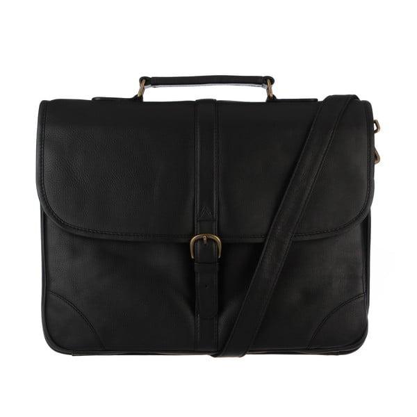 Skórzana torba męska Boris Black