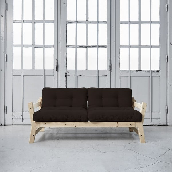Sofa rozkładana Karup Step Natural/Brown