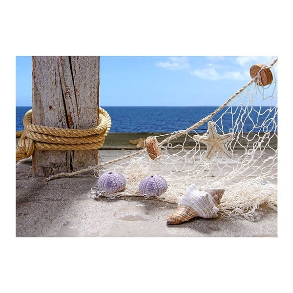 Dywan winylowy Seaside, 52x75 cm
