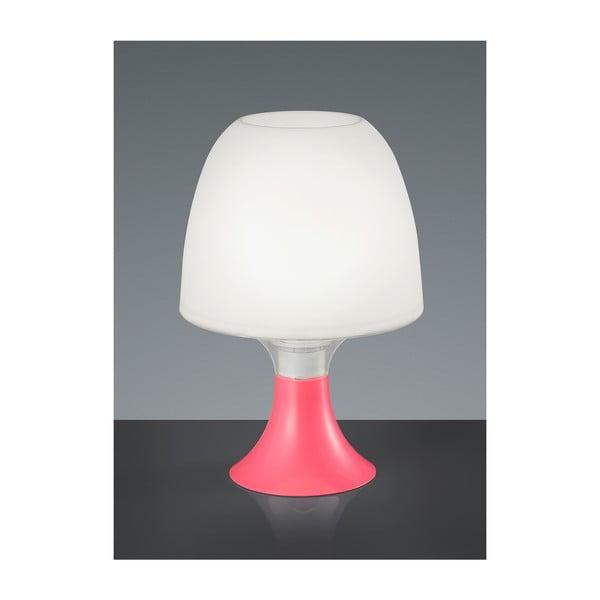 Lampka stołowa Akki, różowa