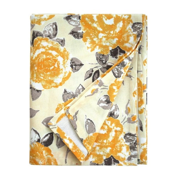 Żółty obrus Ragged Rose Tessa