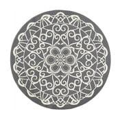 Szary dywan okrągły Zala Living Capri, ø 140 cm