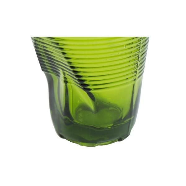 Zestaw 6 szklanek Kaleidoskop 225 ml, zielony