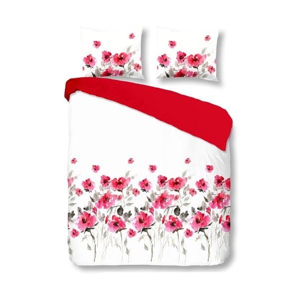 Pościel Flowerdream Red, 200x200 cm