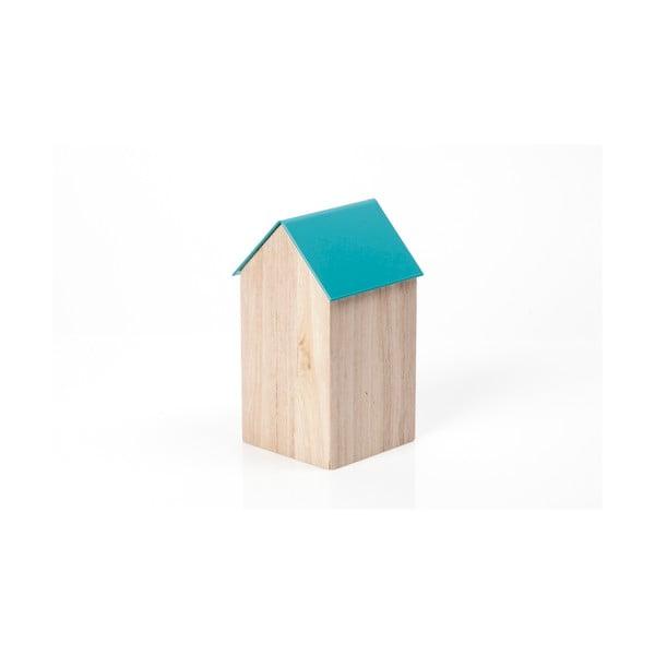 Niebieskie pudełko House Medium