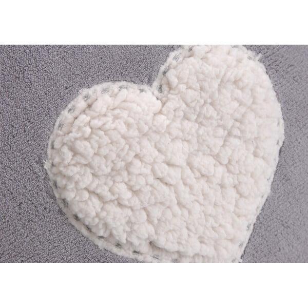 Poduszka z wypełnieniem Sheer Heart Grey