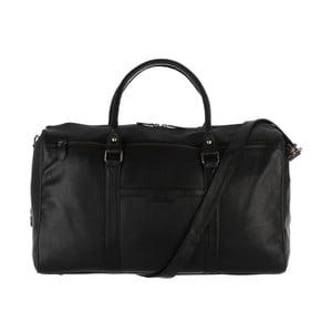 Skórzana torba męska Global Black