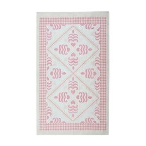 Jasnoróżowy dywan bawełniany Floorist Flair, 100x200cm