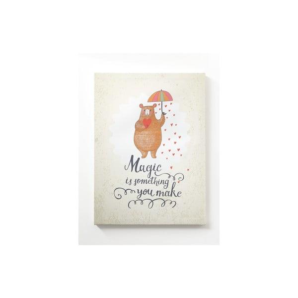 Obraz na płótnie Little Nice Things Magic, 50x70 cm