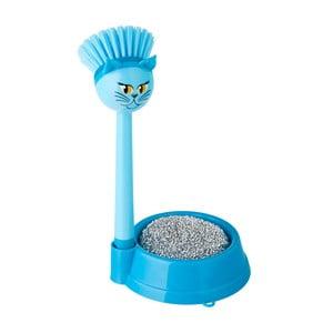 Zestaw do mycia naczyń Vigar Blue Cat