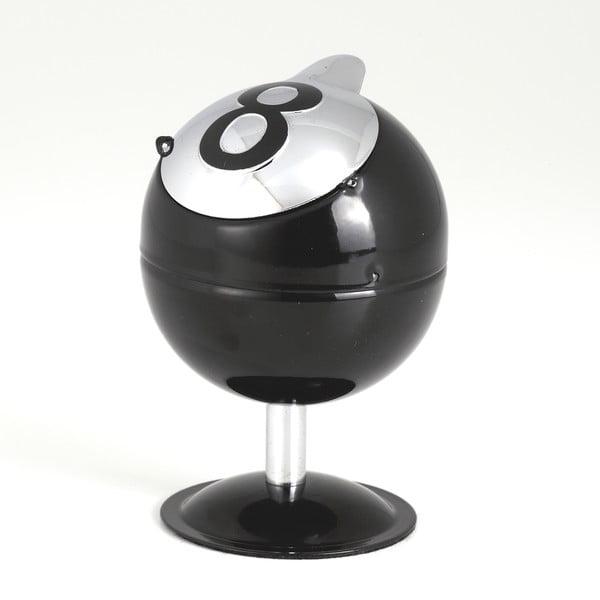 Czarna popielniczka Tomasucci Ball