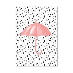 Plakat Americanflat Umbrella on Polka, 30x42 cm