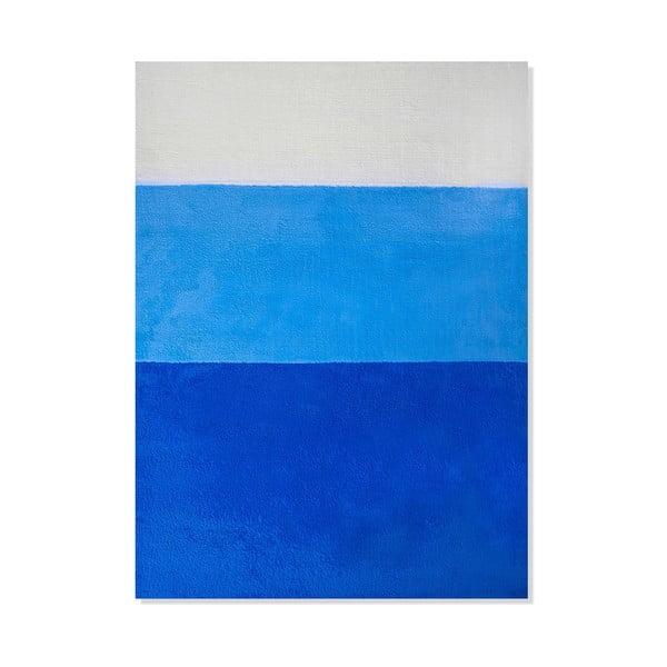 Dywan dziecięcy Mavis Blue Stripes, 100x150 cm
