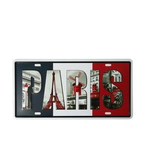 Tablica Paris, 15x30 cm