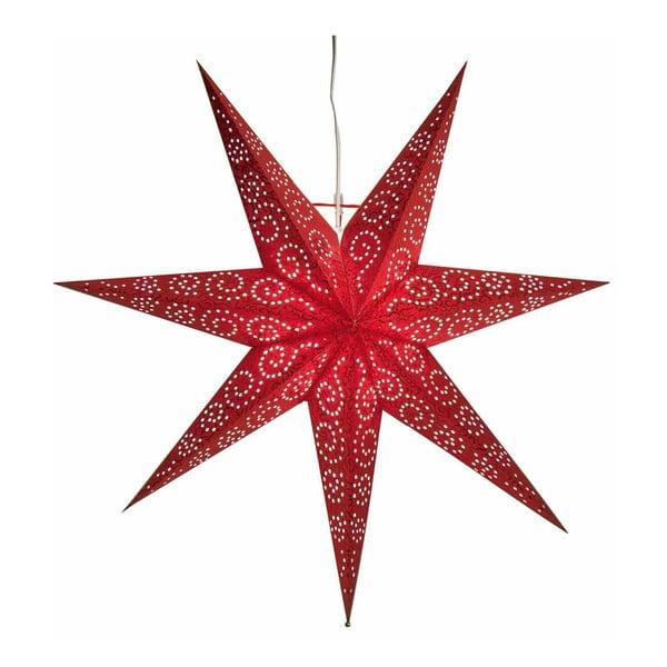 Gwiazda świecąca Antique Red, 80 cm