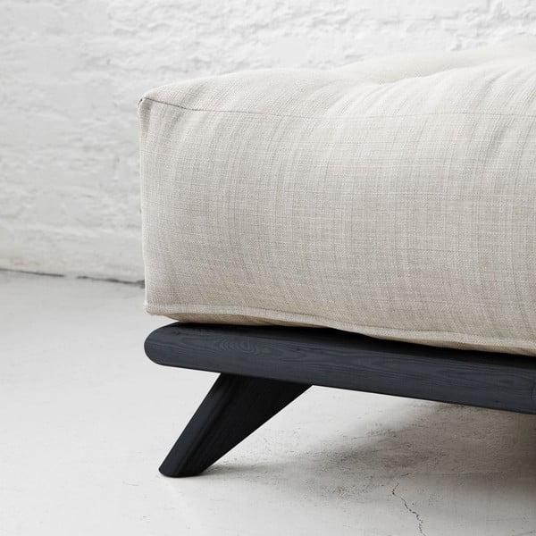 Sofa Senza Black/Light Grey
