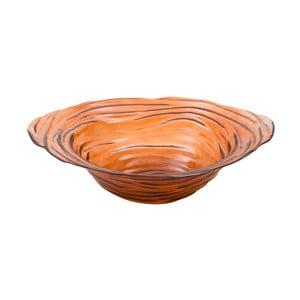 Pomarańczowa misa ze szkła z recyklingu Mauro Ferretti Now