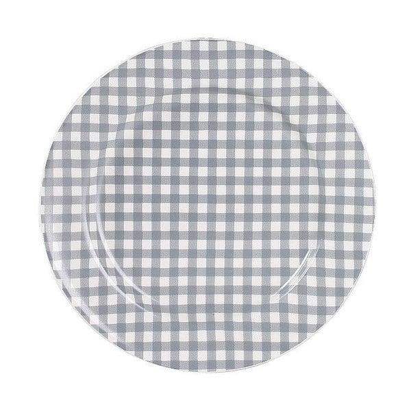 Talerz ceramiczny Marikere Grey, 17 cm