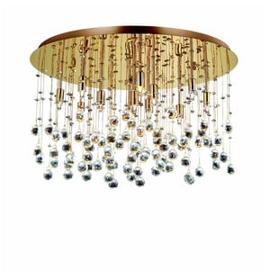 Lampa sufitowa Evergreen Lights Gold Drops