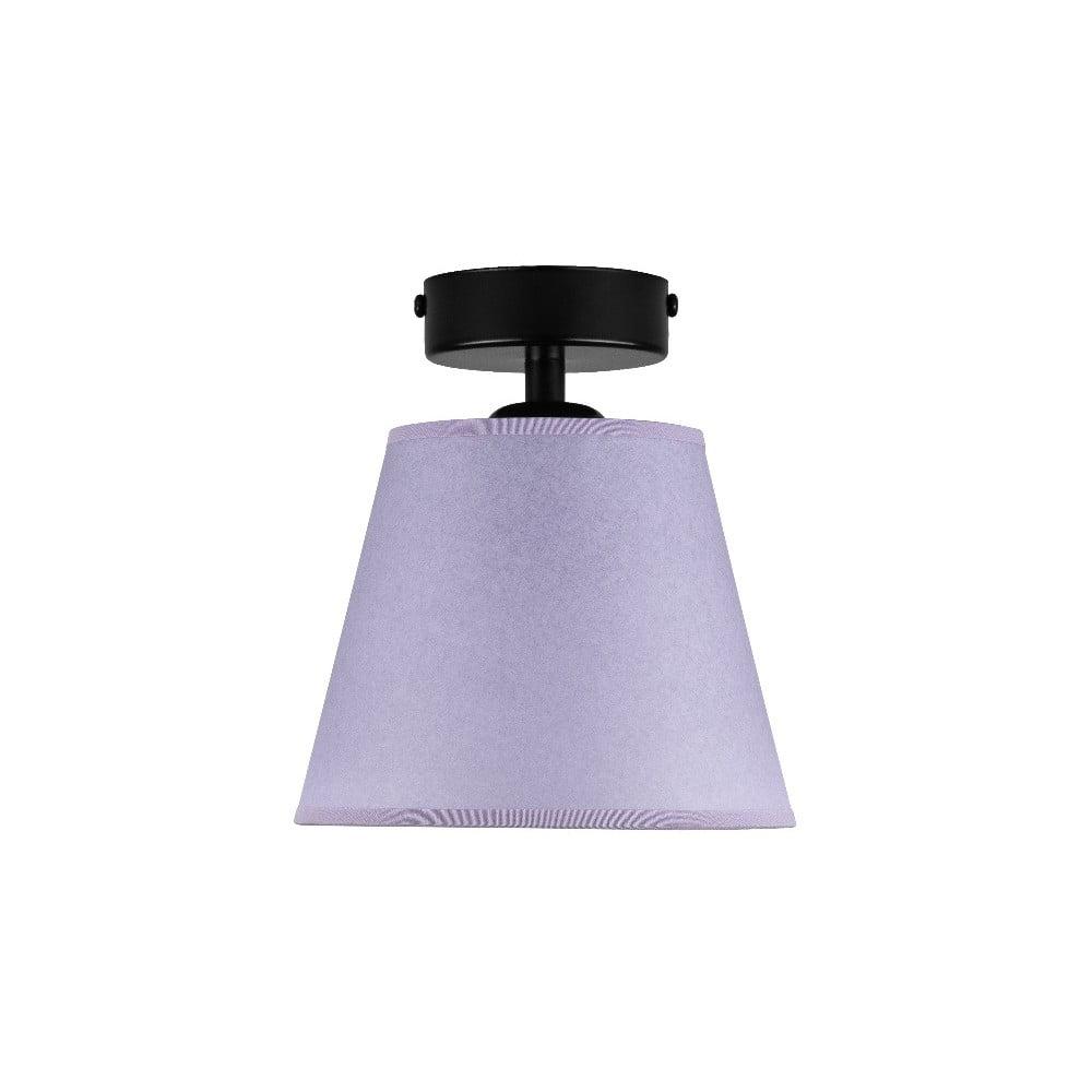 Jasnofioletowa lampa sufitowa Sotto Luce IRO Parchment, ⌀ 16 cm