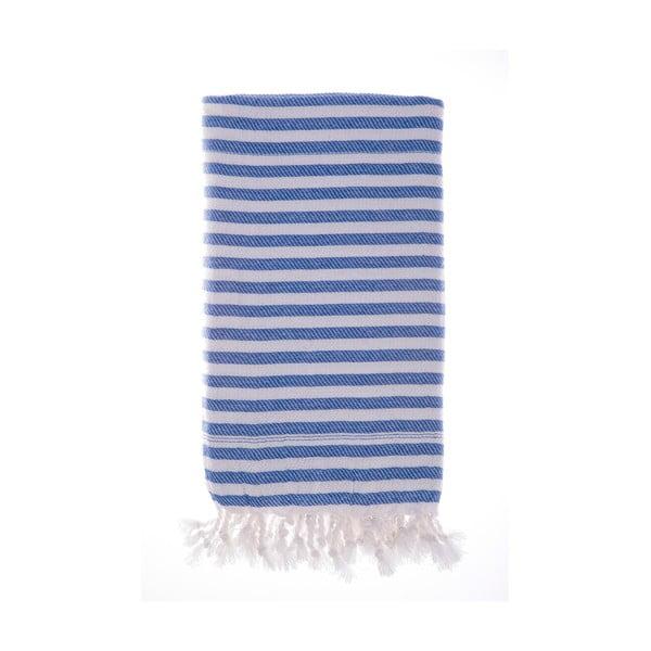 Ręcznik Hamam Marmaris Blue 100x180 cm