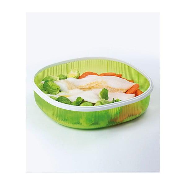 Zestaw na do gotowania na parze w mikrofalówce Snips Dish Steamer, 2 l