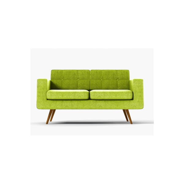 Sofa dwuosobowa York Ibiza, zielona