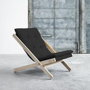 Fotel składany Karup Boogie Raw/Grey