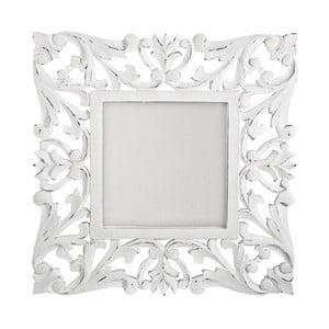 Lustro ścienne Bianco Antico, 60x60 cm
