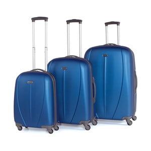 Zestaw 3 walizek Tempo Azul
