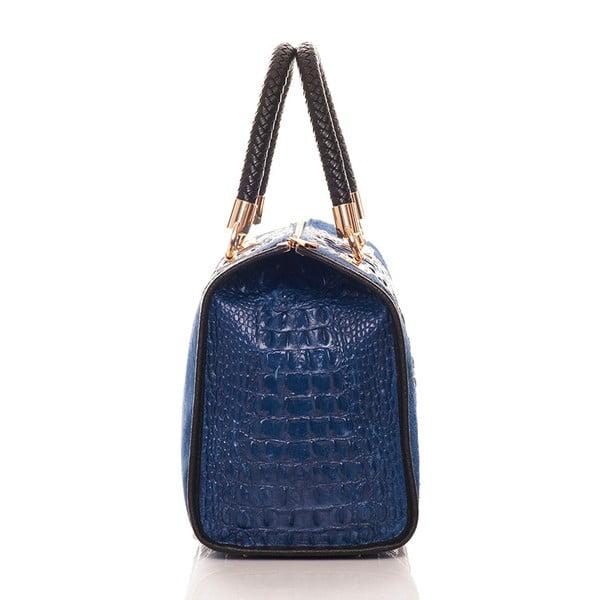 Skórzana torebka Bowling Blue