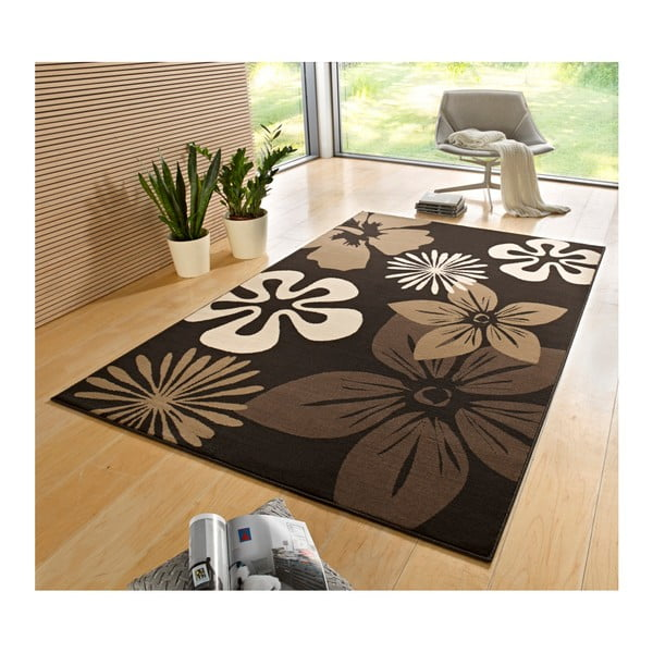 Dywan Hanse Home Gloria Flower Brownie, 120 x 170 cm