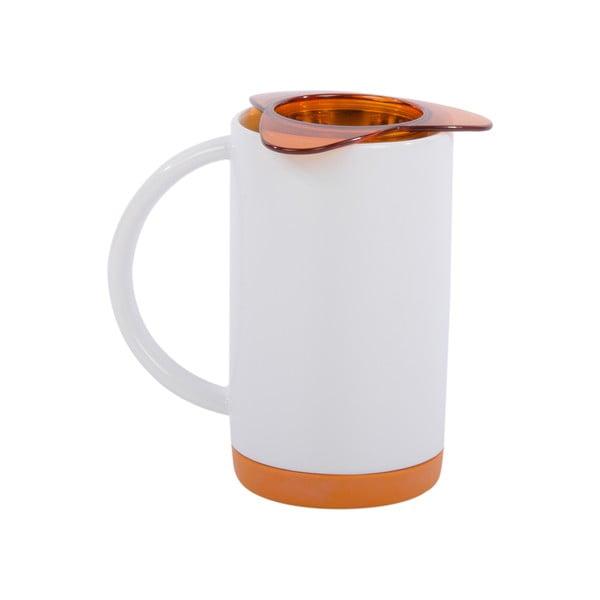 Porcelanowy kubek z sitkiem Ramponi Orange